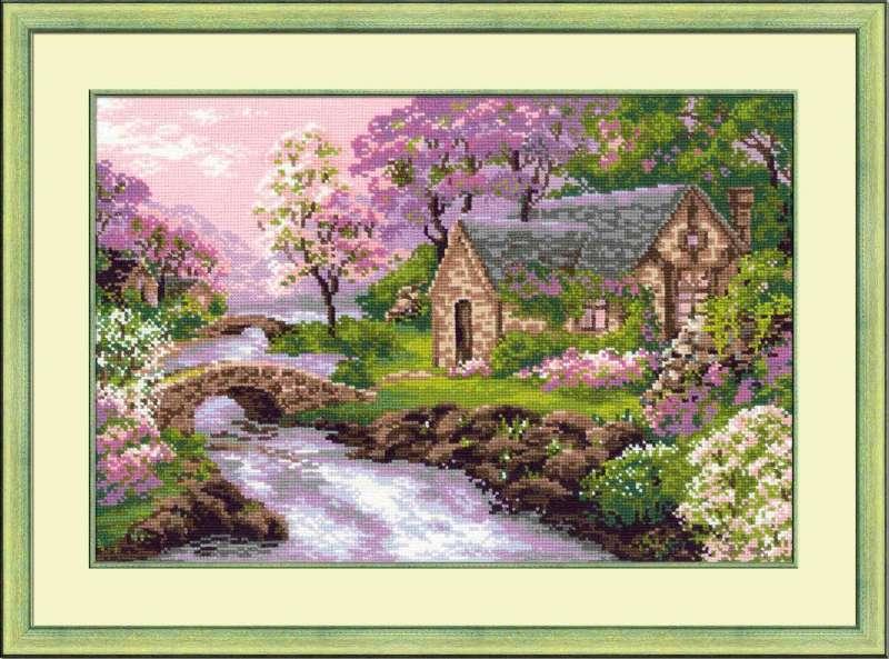Вышивка крестом наборы пейзажи